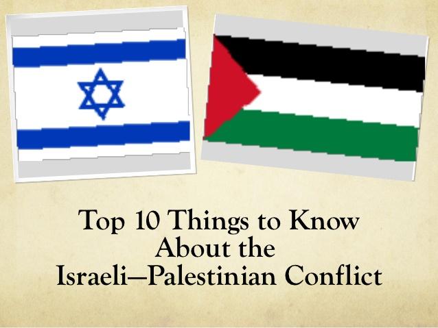 israeli-palestinian conflict essay questions