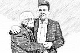 Harry Leslie Smith & Andy Burnham